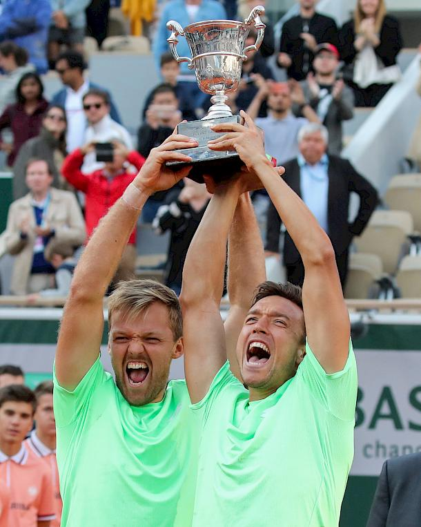 Kevin Krawietz and Andreas Mies as French Open Champions