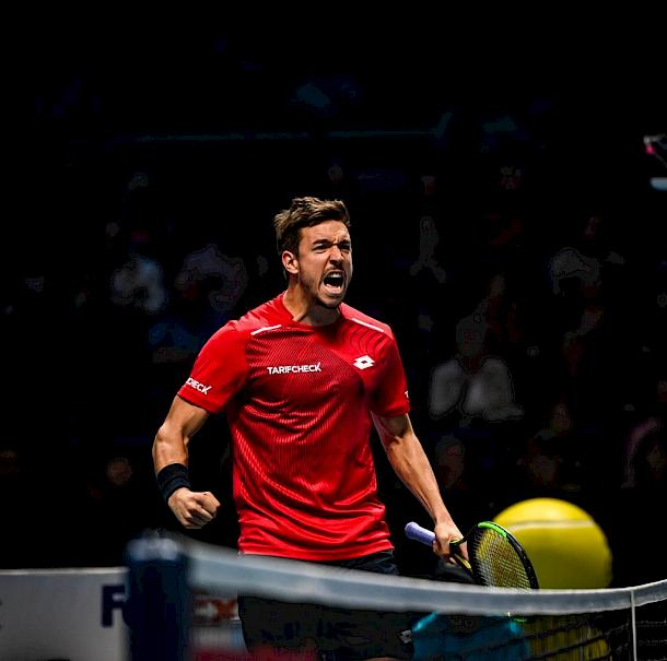 Andreas Mies at the ATP Finals 2019